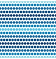 seamless pattern sea or ocean vector image vector image