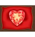 Heart of Valentine vector image