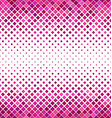 Pink horizontal square pattern background vector image