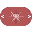 abstract logo icon vector image