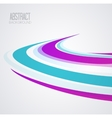abstract wave vector image vector image
