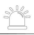 alarm icon design vector image