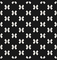 black and white seamless pattern with bows vector image vector image