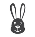 bunny rabbit icon vector image
