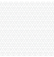 monochrome triangle seamless pattern vector image