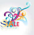 sale background art vector image