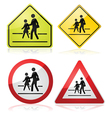 School signs vector image vector image