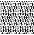 scrawls hand drawn seamless pattern vector image vector image