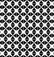 Seamless monochromatic triangle pattern vector image vector image
