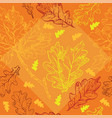 seamless pattern autumn 8 vector image