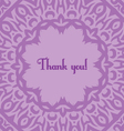 violet card vector image vector image