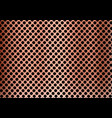 abstract copper metal background made from vector image vector image
