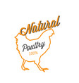 bbq natural poultry 100 image vector image