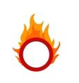 Fire Hoop vector image