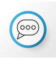 messaging icon symbol premium quality isolated vector image vector image