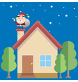 Santa House vector image