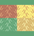 seamless background with wheat vector image