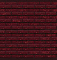 trend seamless texture pattern brick wall vector image
