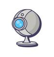 webcam surveillance device technology digital vector image vector image