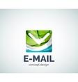E-mail logo business branding icon vector image vector image