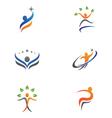 Healthy Life Logo vector image vector image