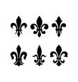 Heraldic symbol fleur de lis vector image vector image