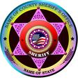 al 0433 sheriff 01 vector image vector image