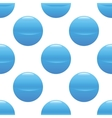 Blue ball pattern vector image