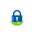 care security logo icon design vector image vector image