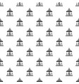 circus carousel pattern seamless vector image vector image