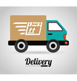delivery icon vector image vector image