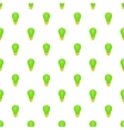 Eco light bulb pattern cartoon style vector image vector image