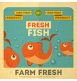 Fresh Fish vector image vector image
