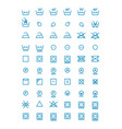 washing and wringing drying and ironing vector image