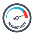 Increase Productivity Concept vector image