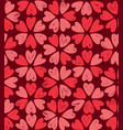 floral pattern decorative seamless background vector image vector image