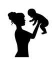 happiness motherhood vector image