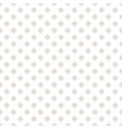 subtle seamless pattern white and beige vector image vector image