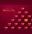 valentines day holiday background vector image vector image