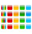 Web app icons vector image
