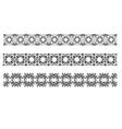 al 0745 dividers 01 vector image vector image