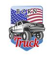 car off-road 4x4 suv emblem badge born