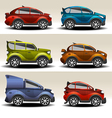 Cartoon cars vector image