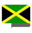 flag horizontal shape pointer for world map vector image vector image