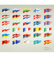 Flags set europe