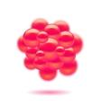 Molecules Design vector image vector image