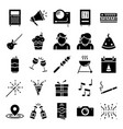 party icons pack vector image vector image