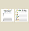 to do lists printable checklist vector image vector image