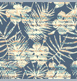 tribal ethnic seamless pattern with tropical vector image