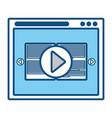 web interface icon vector image vector image